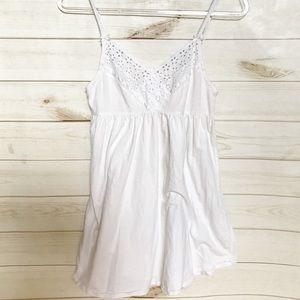 Victoria's Secret Nightie Gown White pajamas PJ  S